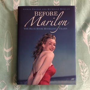 "Other - Marilyn Monroe hardcover book: ""Before Marilyn"""